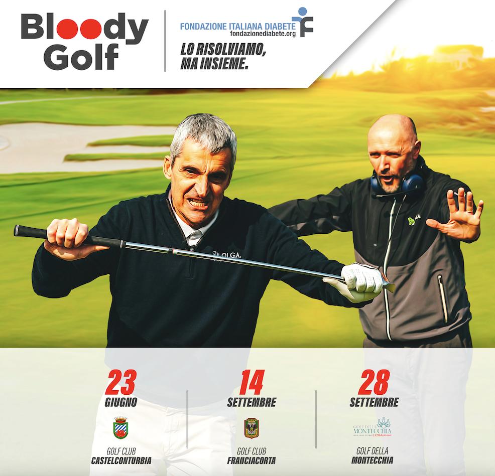 Il calendario degli eventi di Bloody Golf: 23 giugno, 14 e 28 settembre.